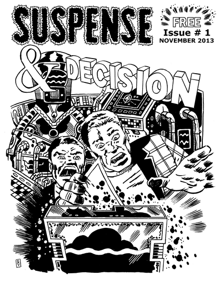 Issue 1 was the very first issue of Suspense & Decision magazine ever published.
